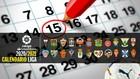 El calendario de Segunda para la 2020-21: las 42 jornadas