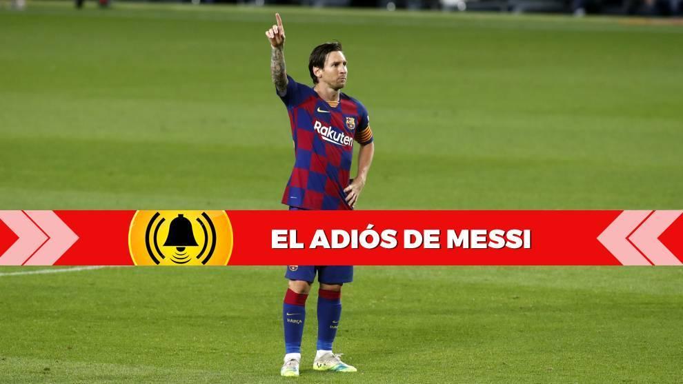 Messi, en un partido con el FC Barcelona