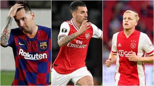 El mercado de fichajes, en directo: Messi, Ceballos, Van de Beek...