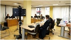 Imagen de archivo de una vista judicial entre LaLiga y la RFEF por los...
