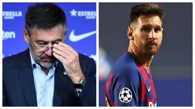División de opiniones en la Junta con Messi