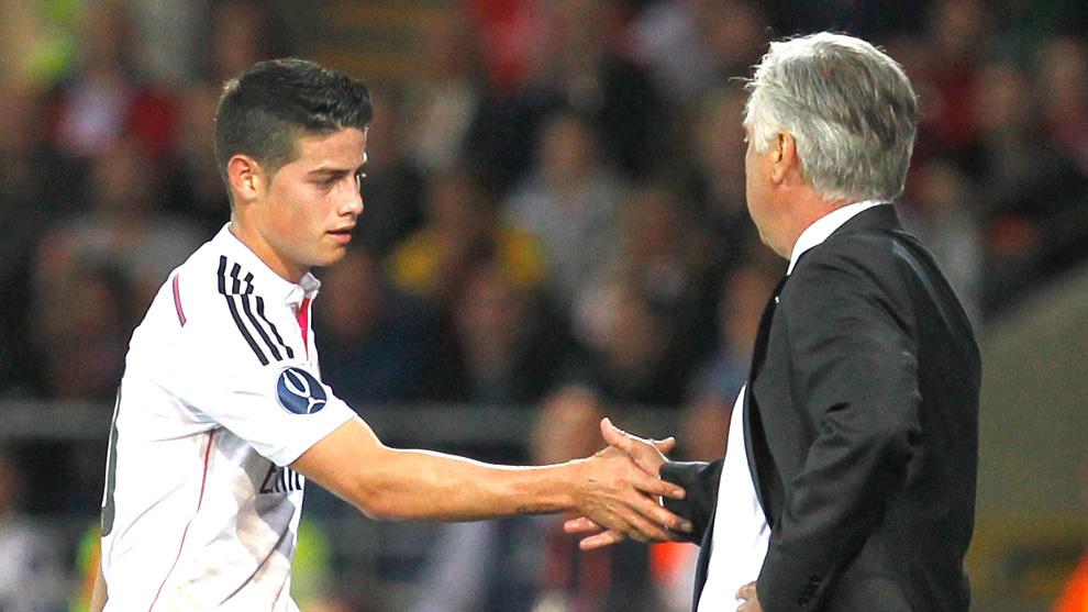 Ancelotti's gamble on James Rodriguez