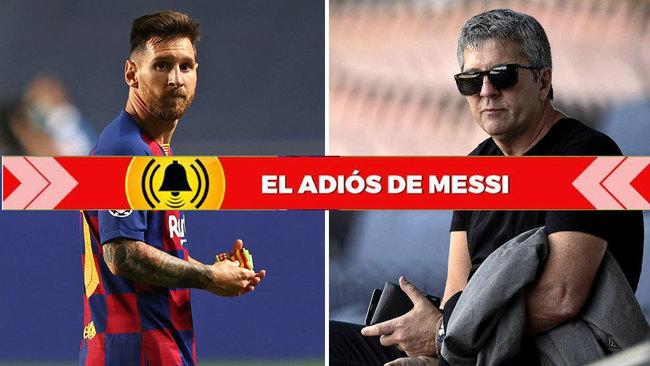 """Messi se va: """"Sé por qué Leo quiere irse..."""""""