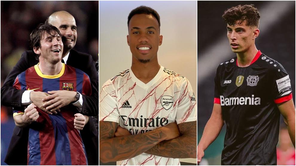 Messi, Gabriel Magalhaes y Havertz han sido uno de los nombres de esta...