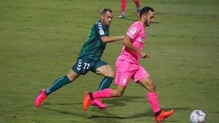 Imagen del partido Mallorca-Castellón disputado este martes.