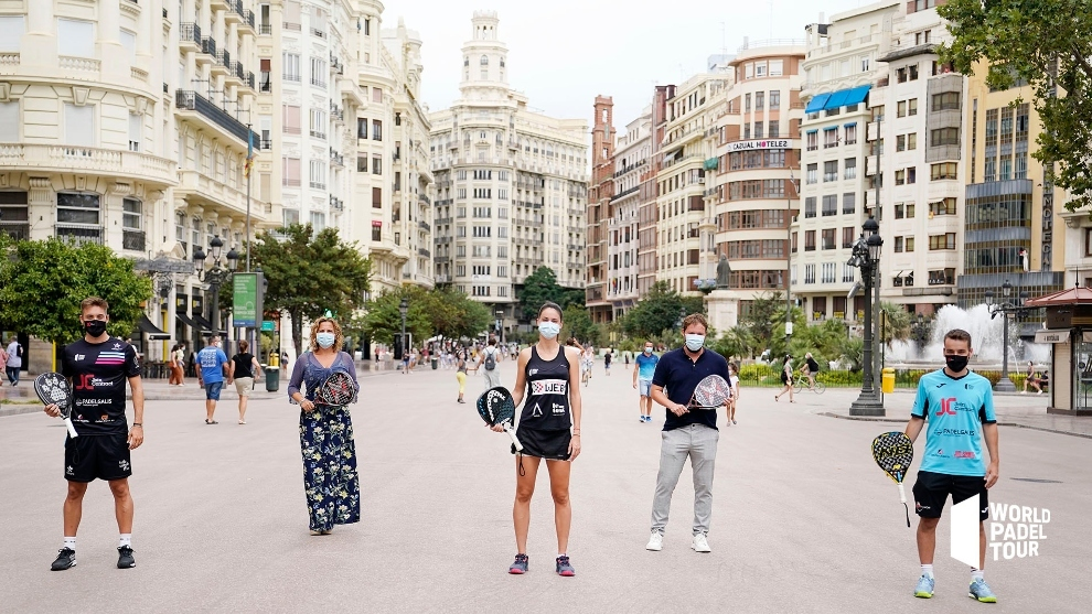 Valencia acoge sin público la quinta prueba del World Padel Tour