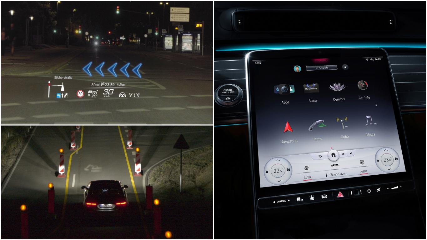 """Una gran pantalla de 12,3"""", realidad aumentada y proyecciones en la carretera son algunas de sus tecnologías."""