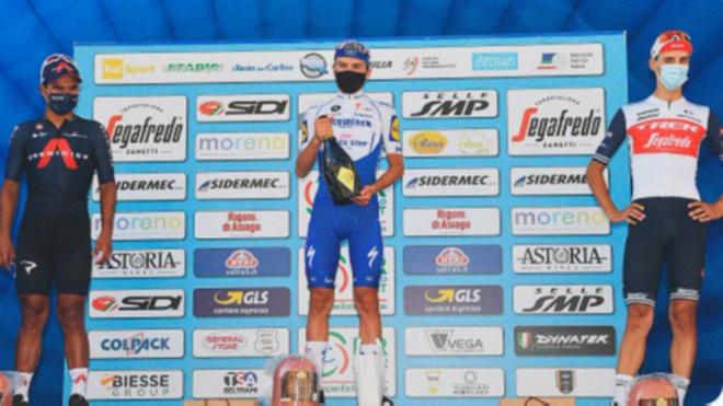 Bagioli, líder de la Semana Coppi y Bartali tras ganar la segunda etapa