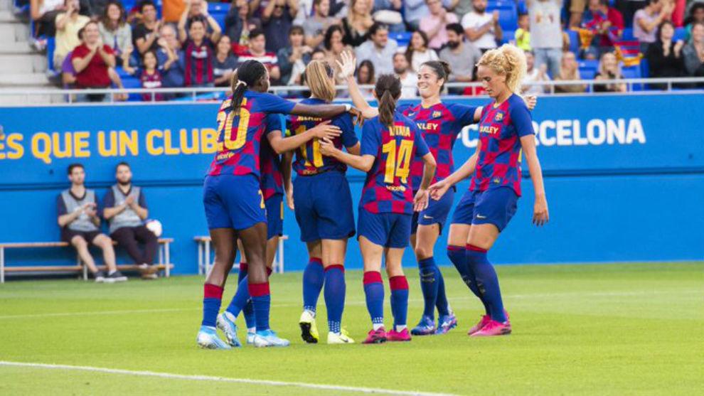 Cuatro jugadoras del Barça en el equipo de estrellas de la Champions League
