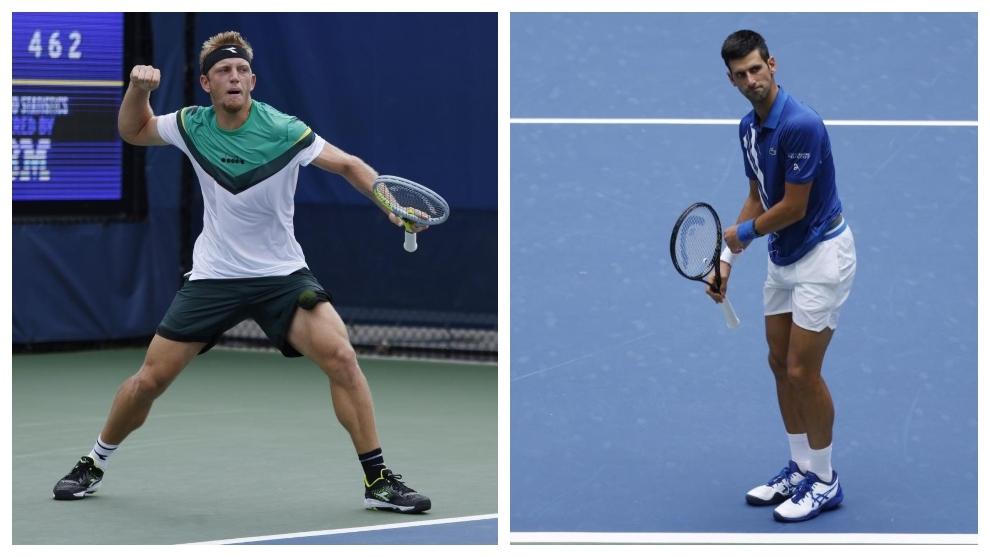 Davidovic y Djokovic, en los partidos del miércoles en el US Open.