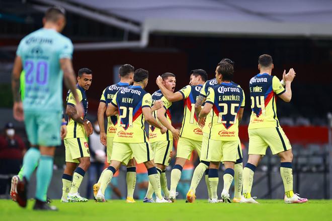 América vs Mazatlán FC: ¡Insólito autogol de Aldo Rocha hunde al Mazatlán  ante el América!   MARCA Claro México