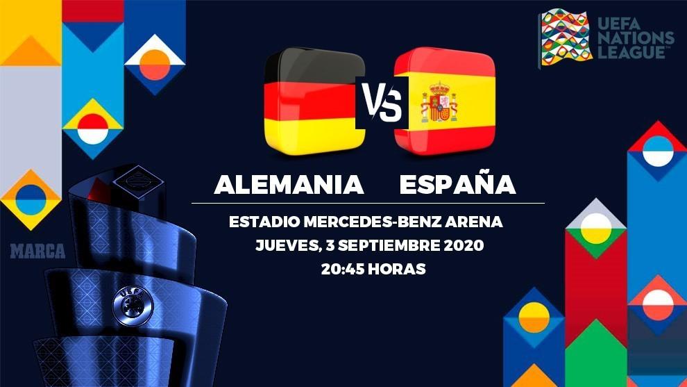 El Alemania vs España de la UEFA Nations League se jugará con sólo tres cambios y no cinco