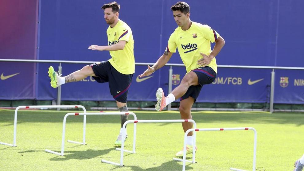 Messi décidera de son avenir en jouant au padel avec Luis Suarez