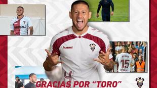 Javi Acuña deja el Albacete y será nuevo jugador del Hércules.