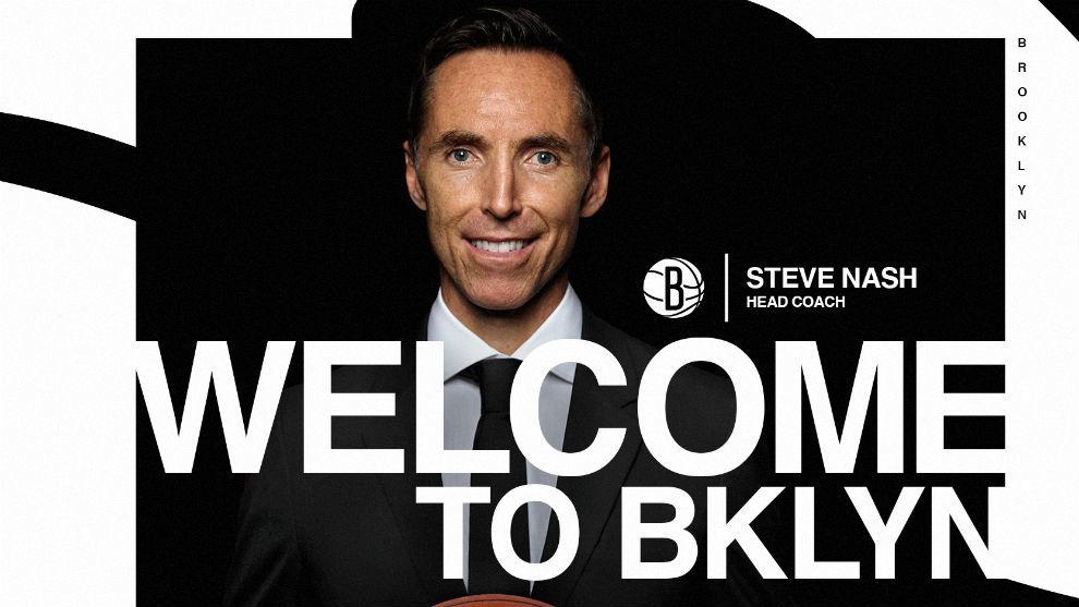 Steve Nash dirigirá a Kevin Durant y Kyrie Irving en los Brooklyn Nets