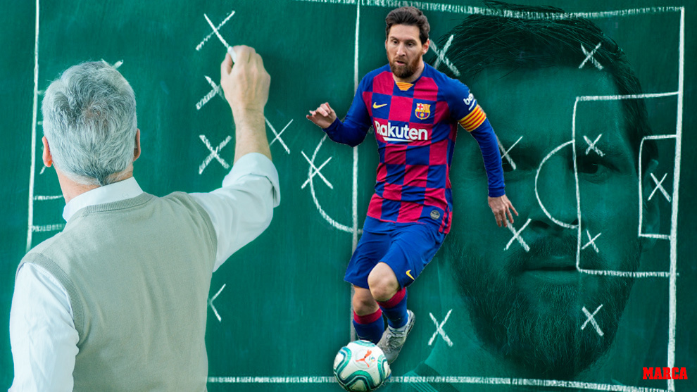 Así juega Messi visto con los ojos de un entrenador