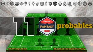 Alineaciones probables de LaLiga para la jornada 6 de Primera Division