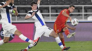 Bale dispara en el encuentro entre Gales y Filandia.