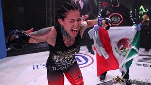 La mexicana luchará ante Emily Ducote en Invicta FC.