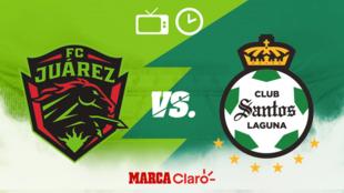 FC Juárez vs Santos: Horario y dónde ver hoy en vivo el partido de...
