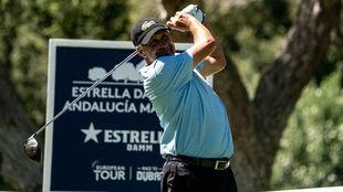 José María Olazábal, durante la primera jornada del Andalucía...
