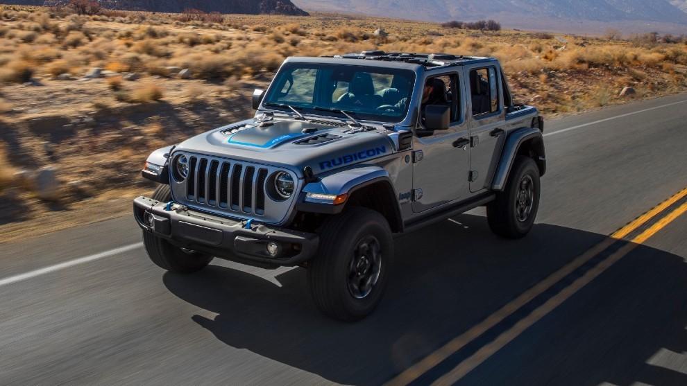 Jeep Wrangler 4xe: un auténtico todoterreno, ahora híbrido enchufable