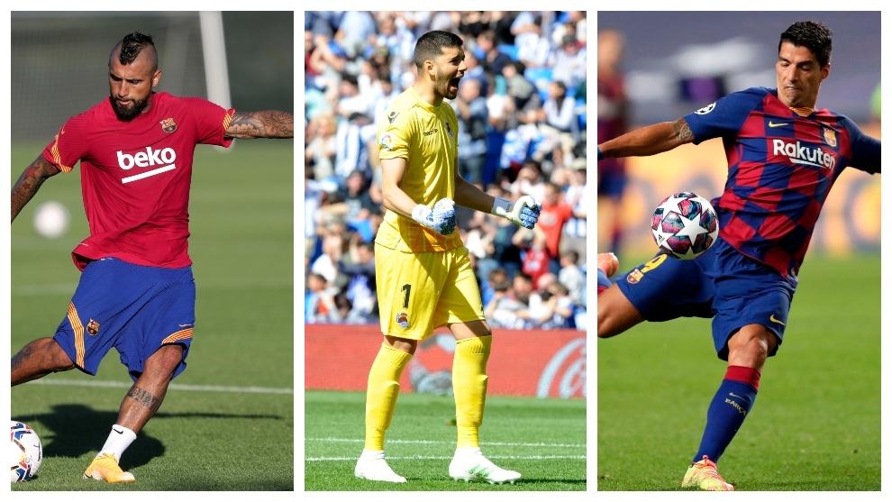 Tour d'horizon des transferts de vendredi: Vidal et Suarez près de la porte de sortie, le Real Madrid est en compétition pour Camavinga ...