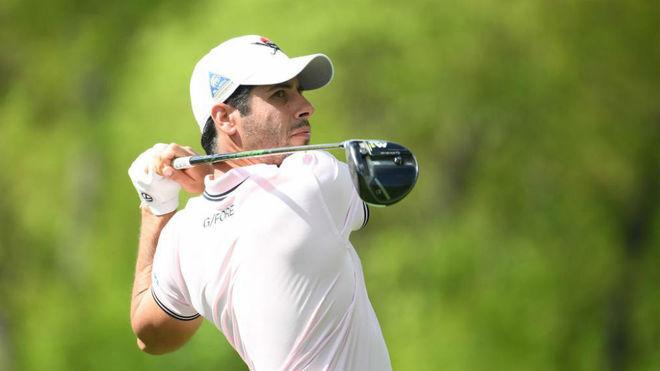 Adrián Otaegui, en el PGA Championship de 2019.