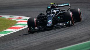Valtteri Bottas, durante los Libres 1 del Gran Premio de Italia 2020.