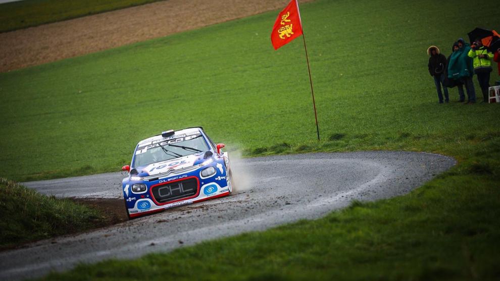 Yoann Bonato ganó con su Citroën la única prueba celebrada antes de...