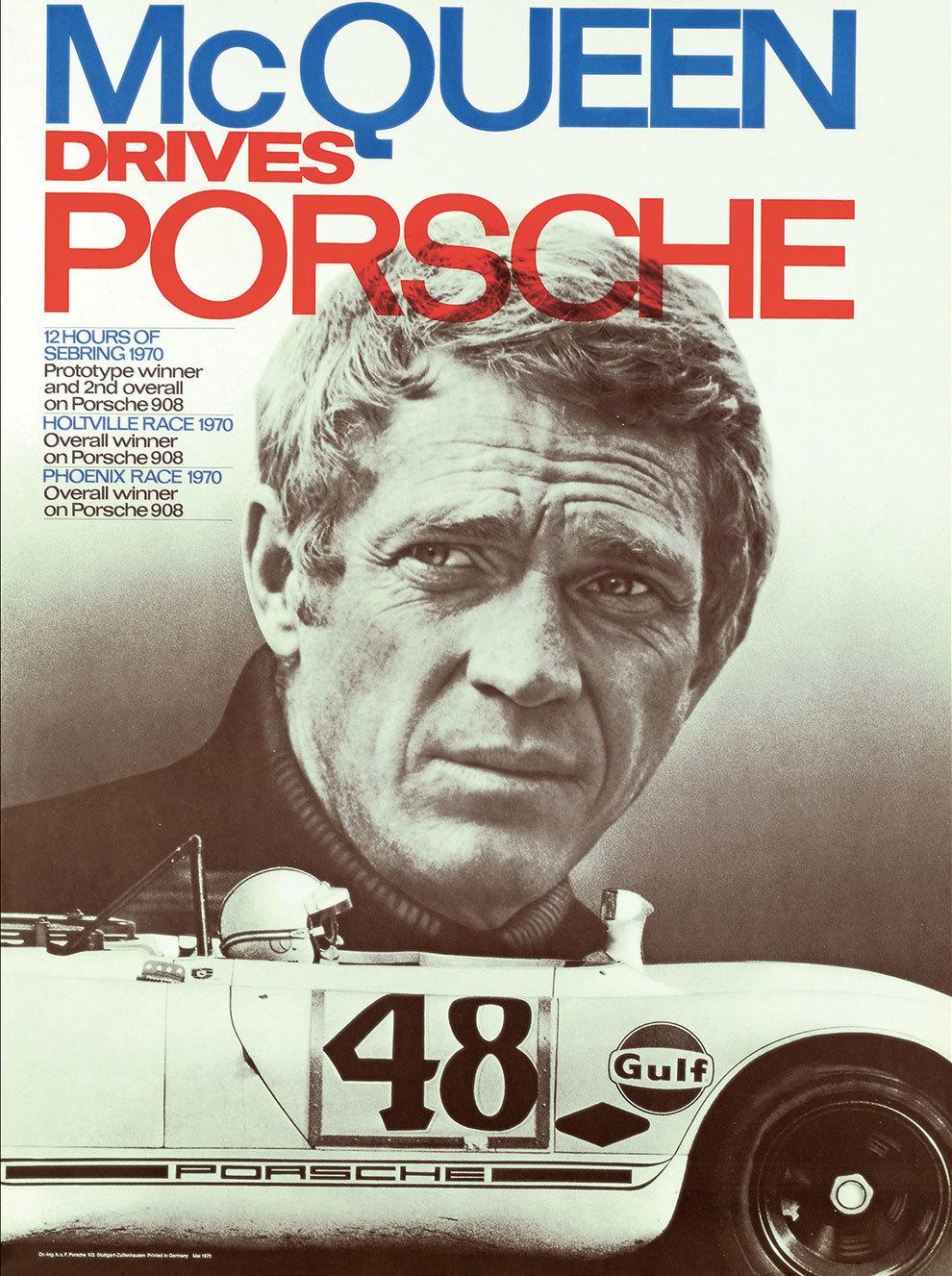 Con el Porsche 908/02 obtuvo sus mejores resultados.
