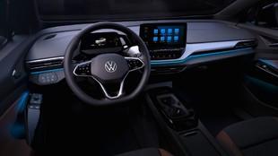 Primera imagen oficial del interior del Volkswagen ID.4.