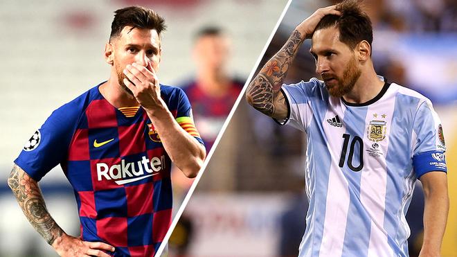 La deuxième fois que Messi a changé d'avis et est resté