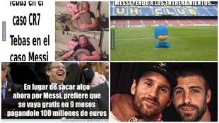 Los mejores memes tras la decisión de Messi de quedarse