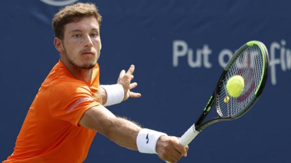 Pablo Carreño Busta durante el US Open
