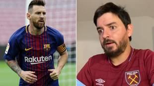 El cómico argentino que explica en 'clave novios' la reconciliación de Messi con el Barcelona