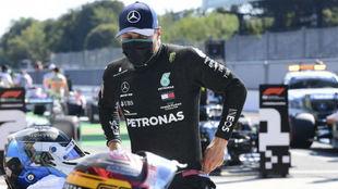 Bottas, segundo en la parrilla del Gran Premio de Italia.