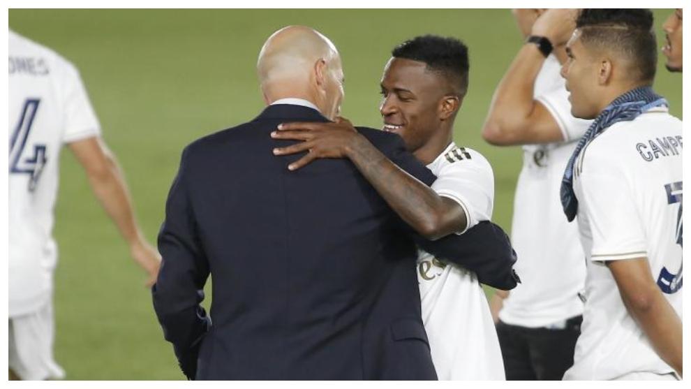 Vinicius: Je voulais aider contre Manchester City, mais je dois respecter les décisions de Zidane