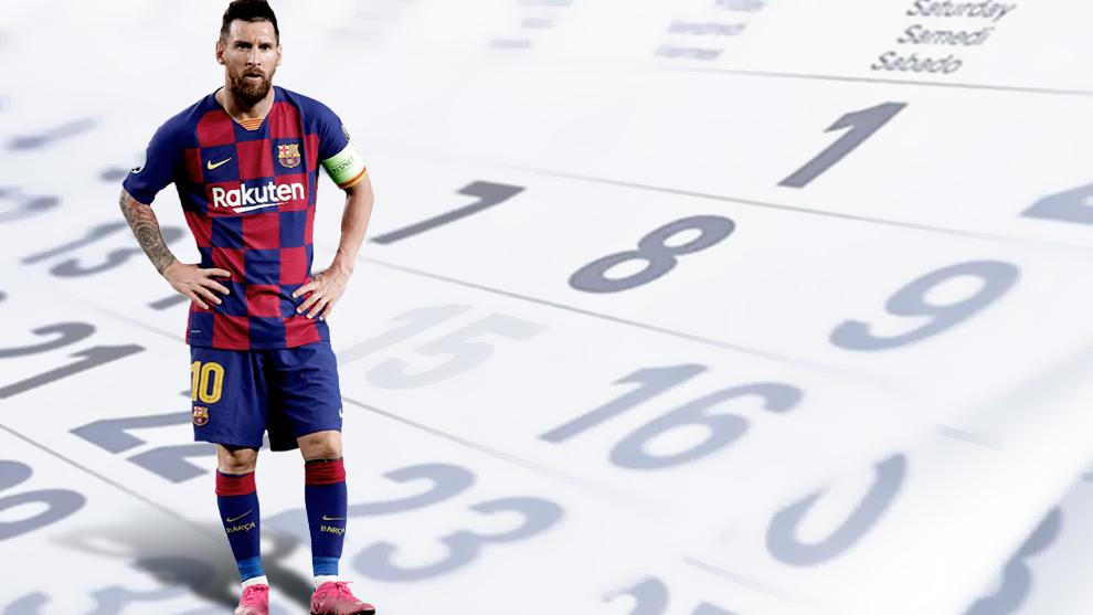 Les dates clés du calendrier 2020/21 de Messi