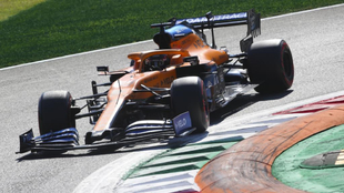 Carlos Sainz en Monza.
