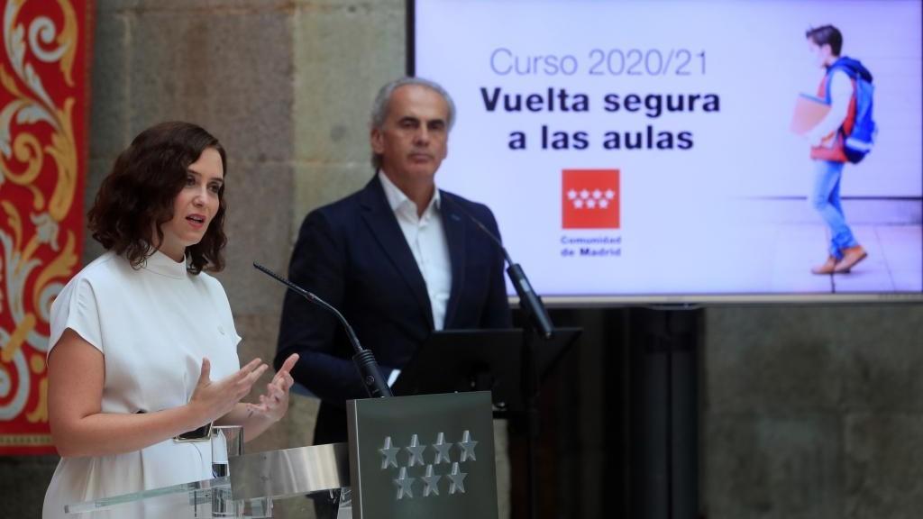 Isabel Diaz Ayuso y Enrique Ossorio
