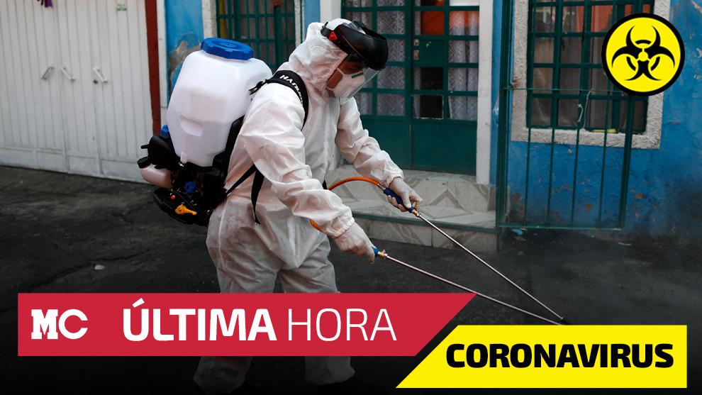 Casos de coronavirus y muertes por Covid-19 en México.