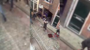 Tremenda batalla campal entre ultras en los Países Bajos