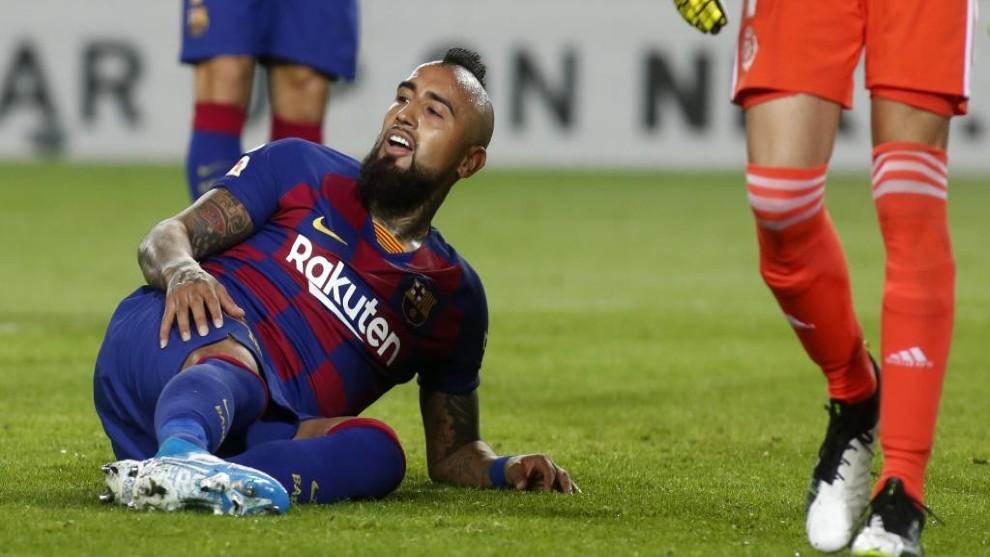 Arturo Vidal's blank season