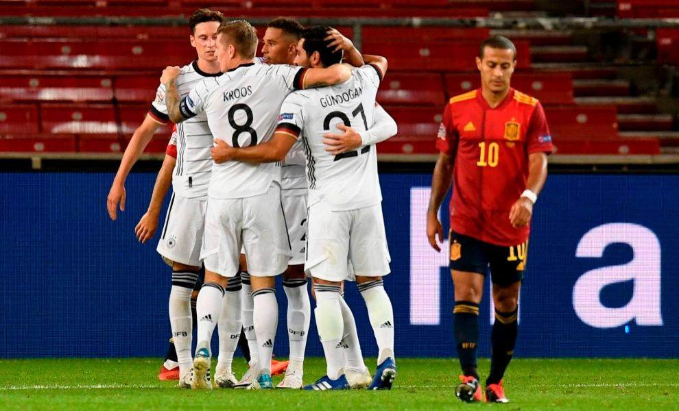L'UEFA Nations League en direct: Suisse - Allemagne, Serbie - Turquie, Kosovo - Grèce ...