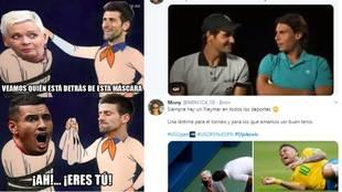 Los mejores memes y tuits de la descalificación de Djokovic