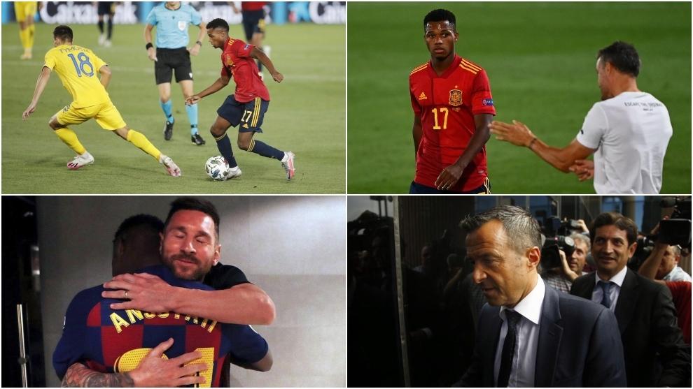 """Ansu Fati, Jorge Mendes y la renovación pendiente: """"Todos preguntan por él"""""""