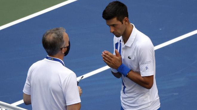 US OPEN 2020: Djokovic pide perdón: