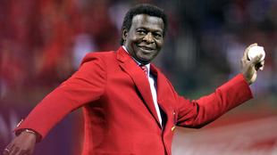 Brock, presente en la Serie Mundial entre Cardinals y Rangers en el...