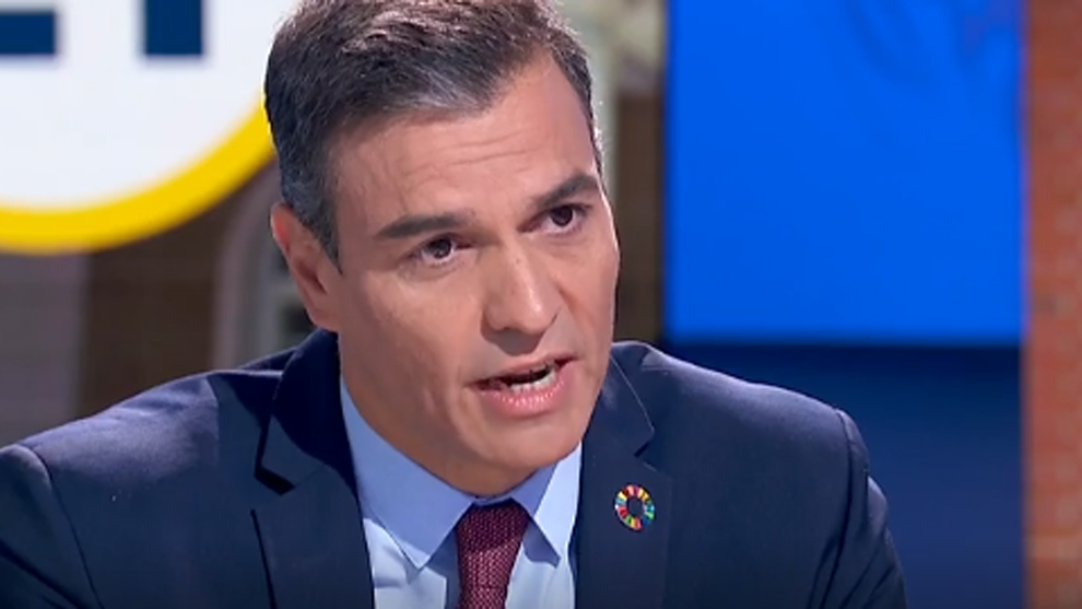 """Pedro Sánchez en La 1: """"En diciembre se vacunará a una parte de la población en España"""""""